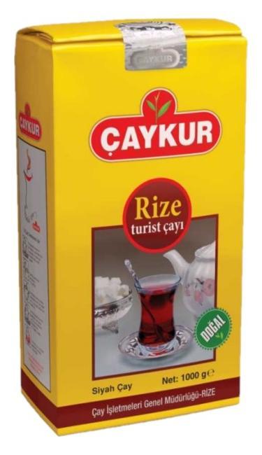 CAYKUR TURIST 500 GR (thé turc)