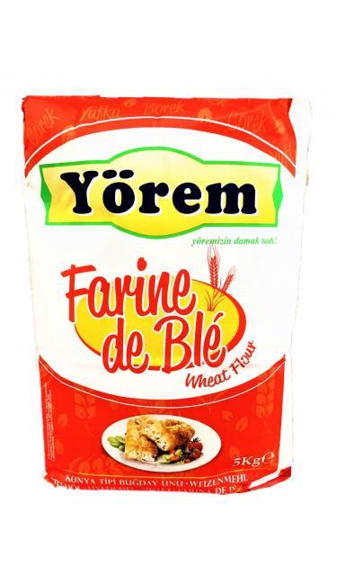 YOREM UN 5KG*3 (farine de blé 5kg*3)