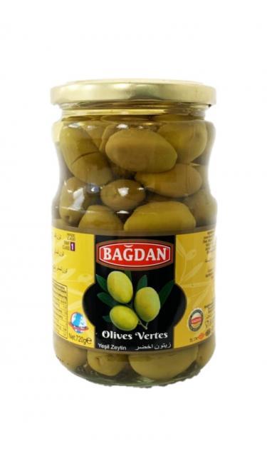 BAGDAN CAM YESIL ZEYTIN (olives vertes)