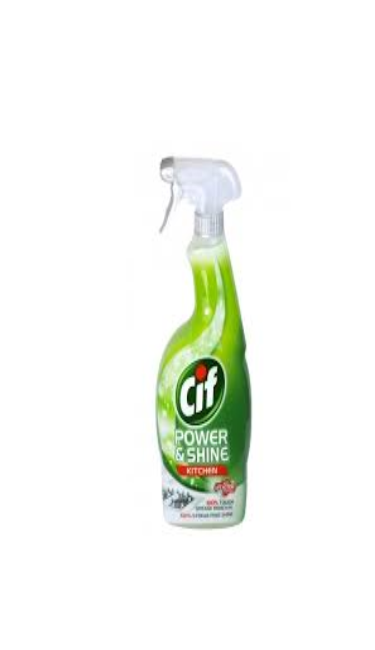 CIF POWER & SHINE KUCHE 750 ML (nettoyant spray cuisine)