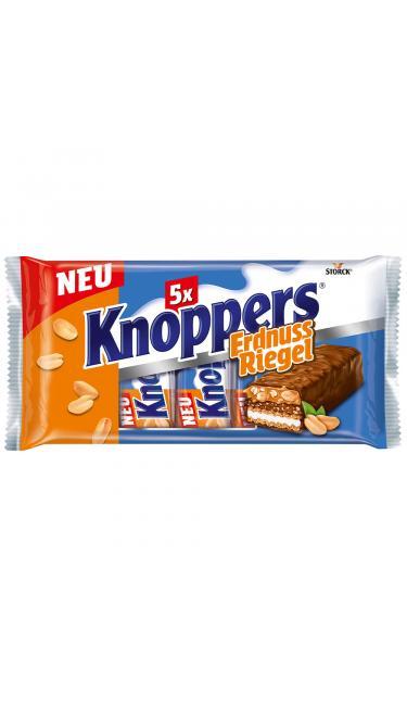 KNOPPERS BARRE FISTIKLI 5'li 40gr (barre au cacahuète)