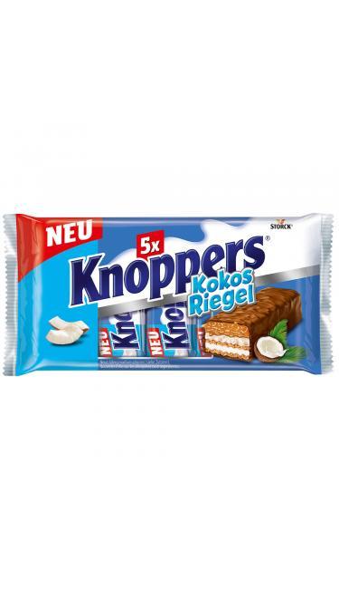 KNOPPERS BARRE COCO 5'li 40gr (barre au noix de coco)