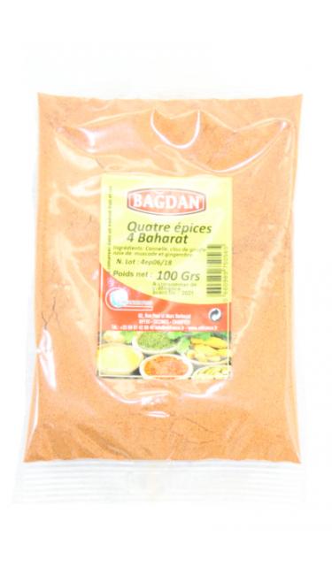 BAGDAN KIYILMIS DORT BAHARAT 100 GR (quatre épices moulues)