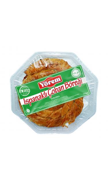 YOREM ISPANAKLI PEYNIRLI KOY BOREK 750gr  (patisserie salé épinards fromage)