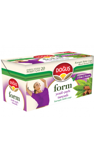 DOGUS FORM YESILCAY&TARCINLI 20'ER (thé minceur  thé vert-cannelle )