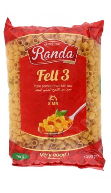RANDA MAKARNA FELL3 - 500 GR (pates)