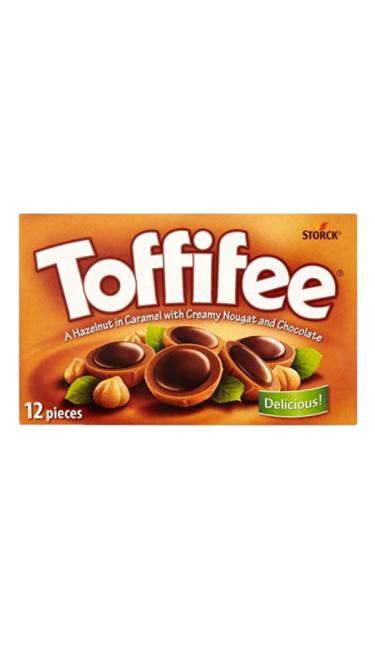 Chocolat fourré au caramel TOFFIFEE