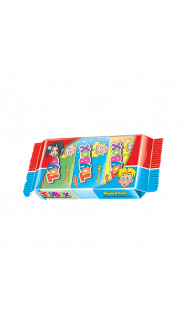 TOYBOX OYUNCAKLI SAKIZ 3LU (chewing-gum + jouet)