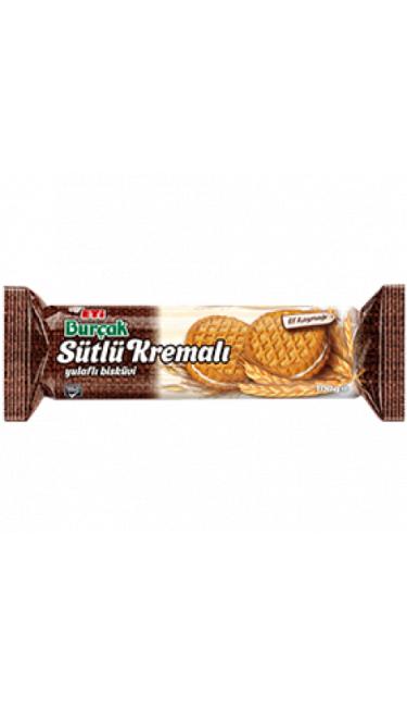 ETI BURCAK SUTLU KREMALI 100 GR (biscuit avoine à la crème)