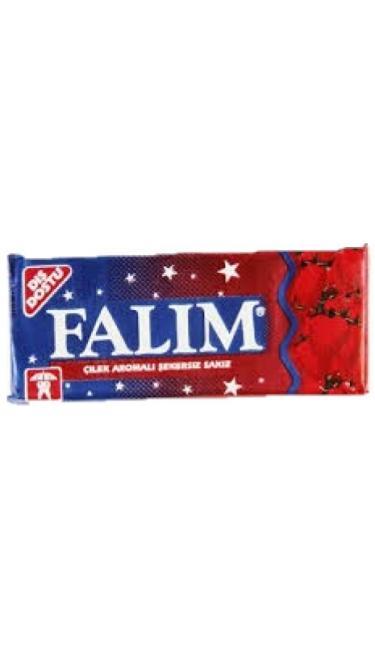 FALIM CILEK  5 ' LI (chewing-gum fraise)