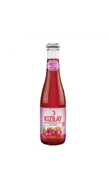 KIZILAY VISNE 200 ML X24 (eau gazeuse griottes)