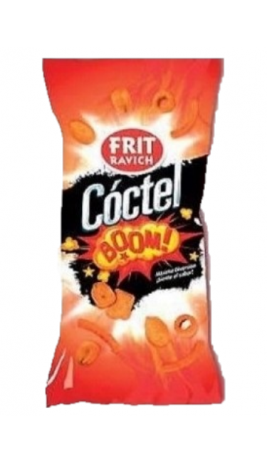 FRIT RAVICH COCTEL SUPER BOOM 45 GR (assortiment de fruits secs)