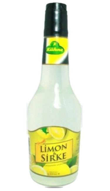 KUHNE SIRKE LIMON 500 CC (vinaigre de citron)