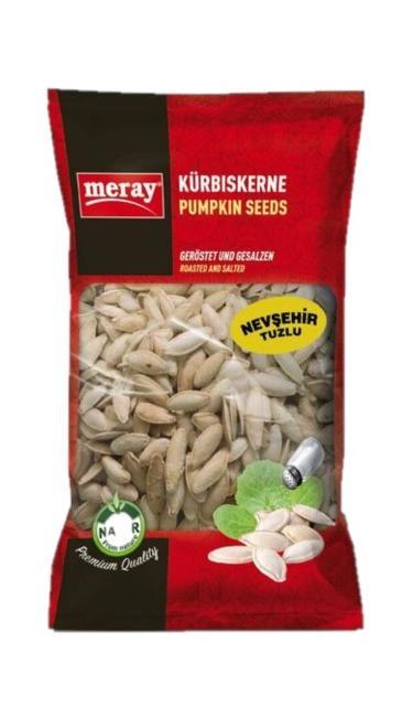 MERAY KABAK NEVSEHIR TUZLU 400 GR PROMO (graines de courge salées)