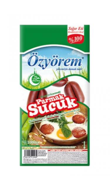 OZYOREM PARMAK SUCUK 1 KG PROMO (saucisson turc)
