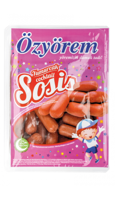 OZYOREM TAVUK COCKTAIL SOSIS 400 GR MINI (mini saucisses)