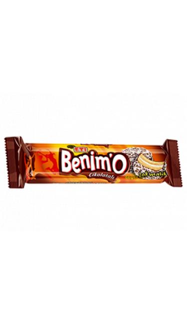 ETI BENIMO 72 GR (biscuit fourré marshmallow enrobé de chocolat et noix de coco)