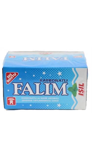 FALIM ISIL 100 ' LU (chewing-gum menthe-bicarbonate)