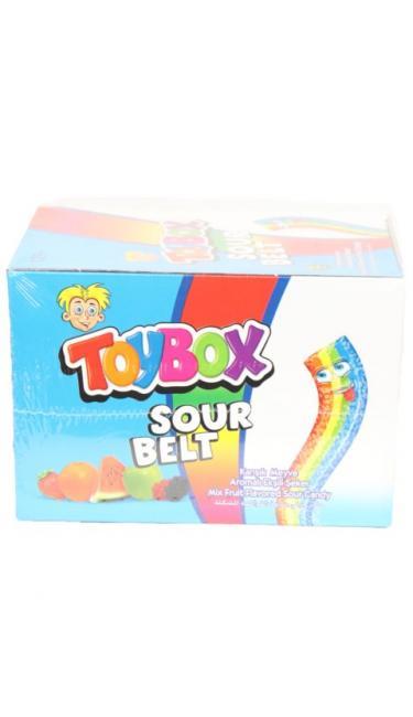 TOYBOX SOUR BELT MEYVELI 80Gr (bonbons au fruit)