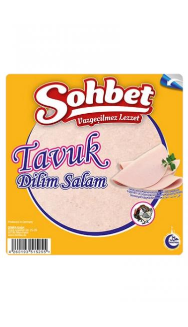 OZYOREM SOHBET TAVUK DILIM 200 GR (tranches de salami au poulet)