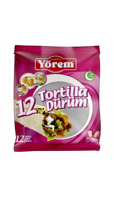 YOREM DURUM TORTILLA 30 CM 12'LI