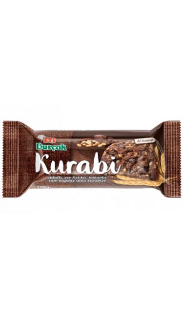 ETI BURCAK KURABI KAKAOLU 12*198GR(cookies choco)