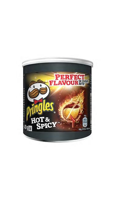 PRINGLES MINI ACI (hot spicy) 12X40GR