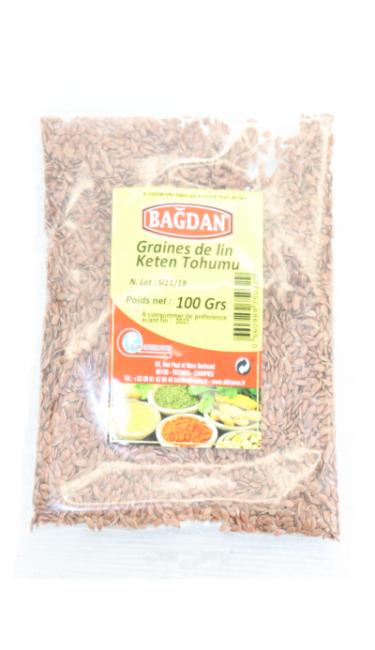 BAGDAN KETEN TOHUMU 100 GR (graine de lin)