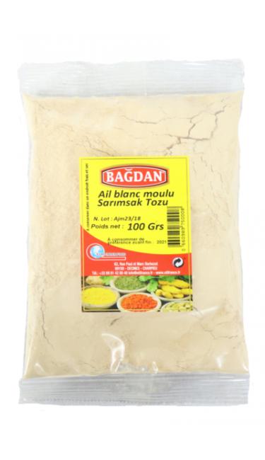 BAGDAN BEYAZ SARIMSAK TOZU 100 GR (ail blanc en poudre)