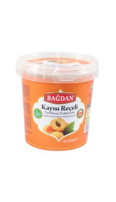 BAGDAN RECEL KAYISI 850gr PET (confiture d'abricot)