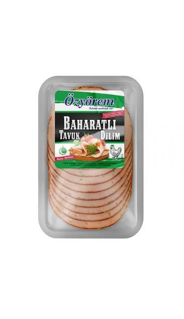 OZYOREM BAHARATLI TAVUK DILIM 10*150 GR