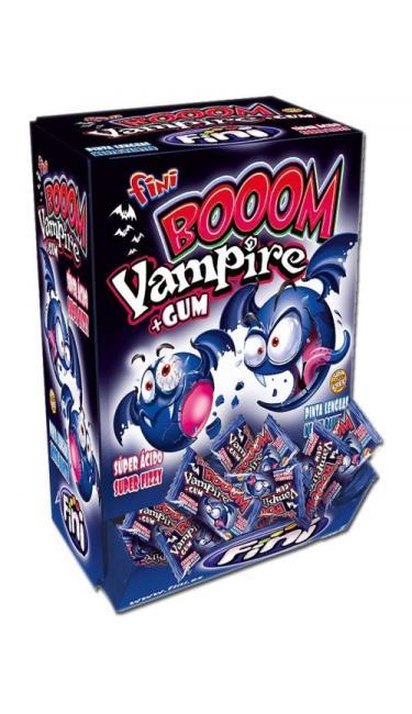 FINI WAMPIRE BOOM GUM 200 PCS (chewing-gum vampire)