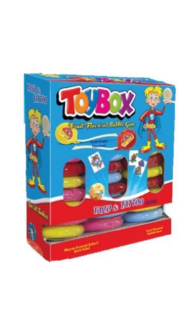 TOYBOX MEYVELI  METRE SAKIZ STAND (chewinggum rouleau)