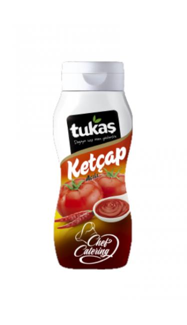 TUKAS KETCHUP HOT  (ketchup epicé piquant)