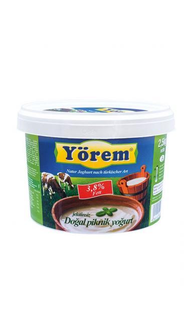 YOREM YOGURT 2.5 KG