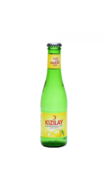 KIZILAY LIMON 200 ML X24 (eau gazeuse au citron)