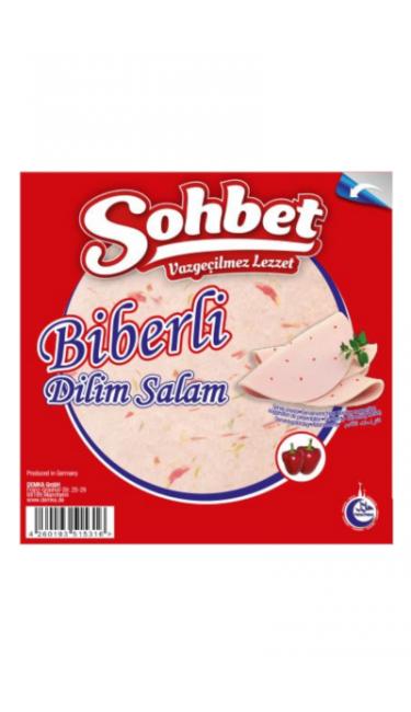 OZYOREM SOHBET BIBERLI DILIM 200 GR (tranches de salami poulet pimenté)