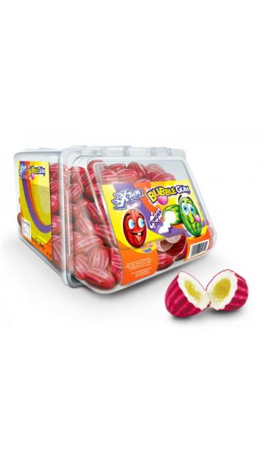 X-TREME JOHNY BEE BUBBLE GUM STRAWBERRY 300 PCS