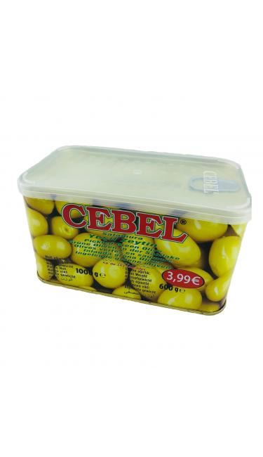 CEBEL Y.ZEYTIN BIBERLI 600 GR PROMO SATIS FIYATI 3.99 (olives avec piment)