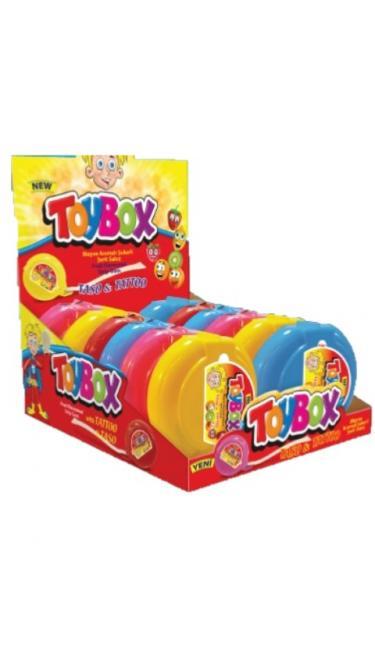 TOYBOX MEYVELI METRE SAKIZ (chewing gum rouleau)