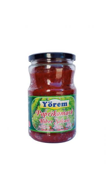 YOREM TATLI BIBER SALCASI 700 GR ( double concentré de piments doux)