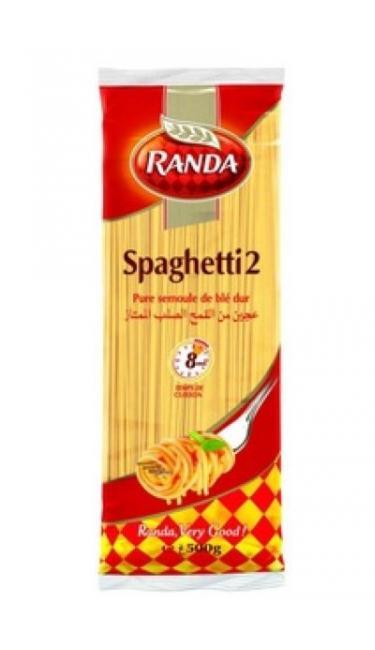 RANDA MAKARNA SPAGHETTI 2 -500 GR (spaguettis)