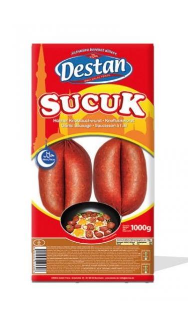 DESTAN PARMAK SUCUK 1 KG (saucisson turc) Yeni Fiyat