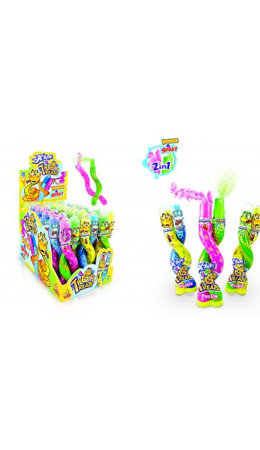 X-TREME TWISTY TREATS (2en1 spray et poudre pétillante)