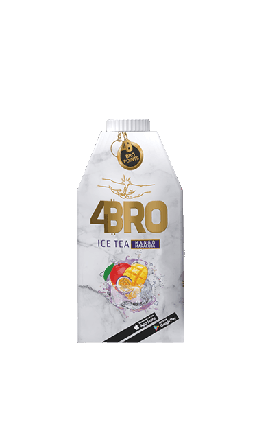 4BRO ICE TEA MANGO