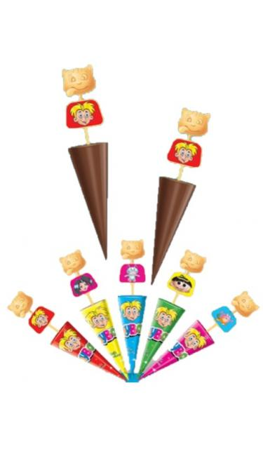 TOYBOX CIKOLATALI SEMSIYE 26Gr (chocolat en forme de parapluie)