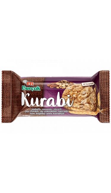 ETI BURCAK KURABI SUSAMLI INCIRLI 12*198GR(cookies cacahouete)