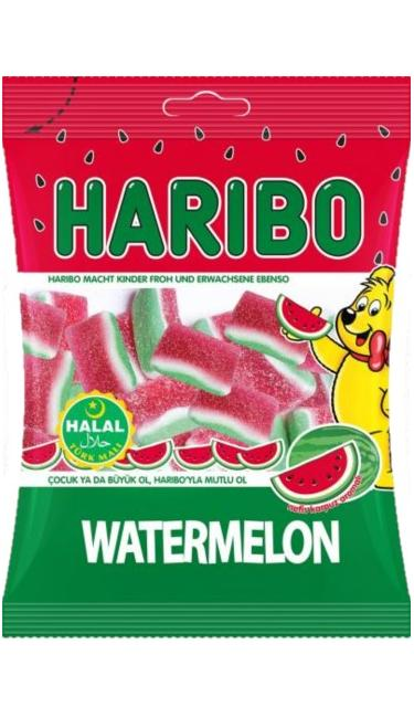 HELAL HARIBO WATERMELON 80 GR ( Pasthèque )