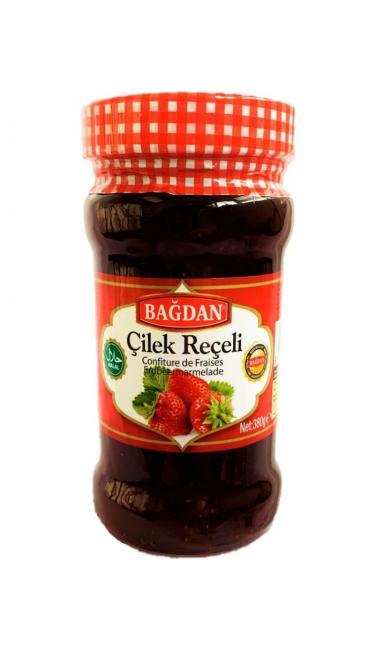BAGDAN RECEL CILEK CAM 380GR (confiture de fraise)