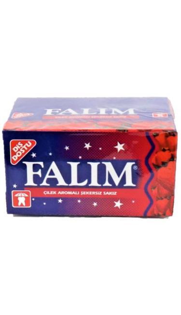 FALIM  CILEK 100 ' LU (chewing-gum fraise)